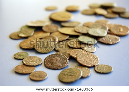 Very old Roman and Greek coins I