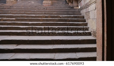 very rare vintage stairway and...