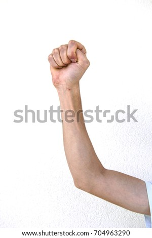 Very special hand signs, hand signs used in daily life, body language signs #704963290