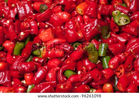 very spicy peppers