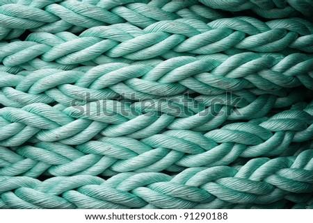 vessel equipment. Rope.