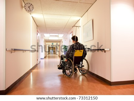 veteran alone in hospital