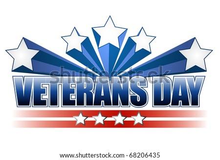 Veterans Day Logo Veterans Day Logo Illustration