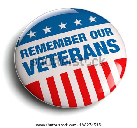 Veterans Day / Memorial Day badge.
