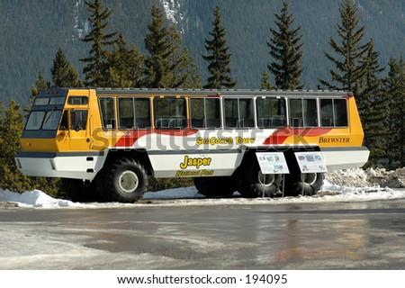 Vettura della neve - stock photo