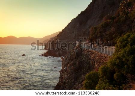 Via dell'Amore, Mediterranean coast, Italy