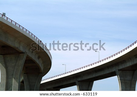 Viaducts and sky