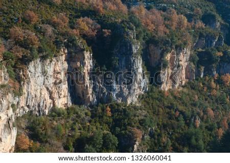 Viandico ravine. Pyrenees. Huesca. Aragon. Spain.