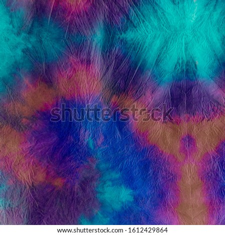 Vibrant Background. Beautiful Tie Dye T-Shirt. Multicolour Dirty Art Shibori. Liquid Colors. Water Color Background. Splatter Color Background.