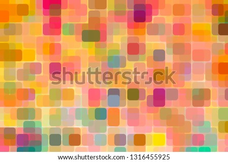 Vibrant Bold Colorful Background with a modern retro style in groovy color combinations