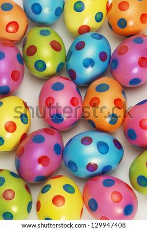 Vibrant Easter Egg background