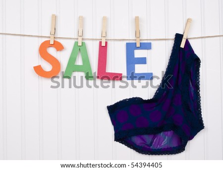 Vibrant Image for Your Next SALE Purple Panties.