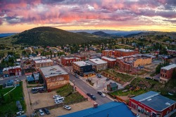 Victor is an antique mining Town adjacent to a large Gold Mine in the Colorado Rocky Mountains