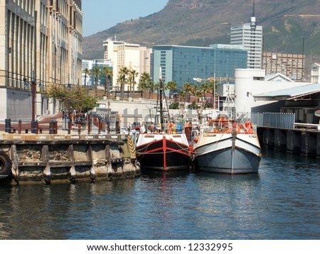 Victoria and Alfred Waterfront, Cape Town SA
