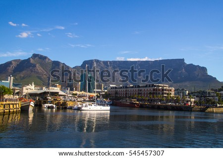 Victoria and Alfred Waterfront is a favorite place for tourist in Cape town, South Africa. It hosts a variety of shopping, boating excursion and restaurants.
