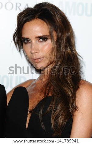 Victoria Beckham arriving for the 2013 Glamour Women of The Year Awards, Berkeley Square, London. 04/06/2013