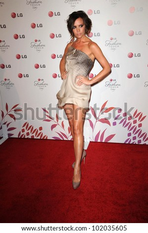 "Victoria Beckham at the LG ""Fashion Touch"" Party, Soho House, West Hollywood, CA. 05-24-10"