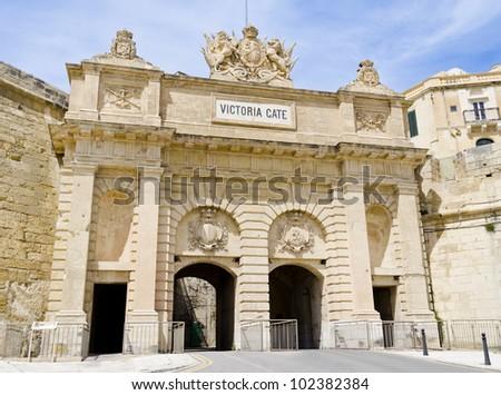 Victoria Gate in Valletta
