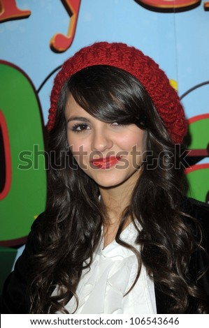 Victoria Justice   at the World Premiere of 'Merry Christmas, Drake and Josh'. Westside Pavillion, Los Angeles, CA. 12-02-08