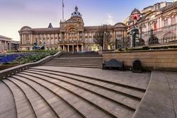 Victoria Square in Birmingham, England, United Kingdom