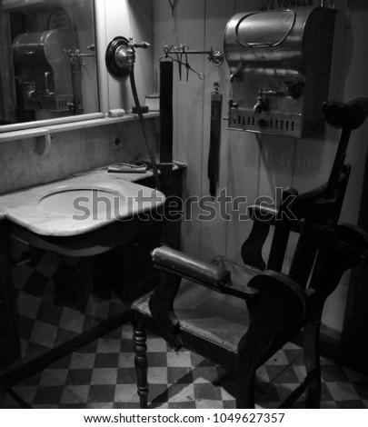 Victorian Barbers Shop #1049627357