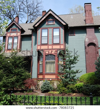 Victorian Painted house