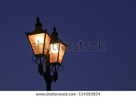 Victorian Street Lamps,