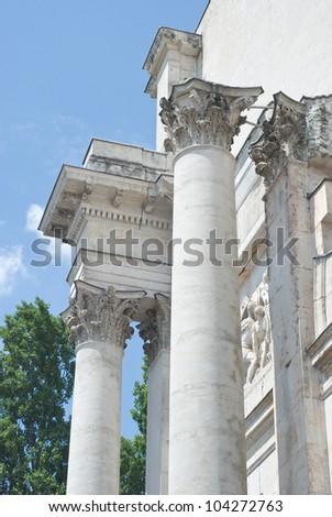 Victory Gate in Classical Greek Architecture in Munich