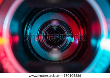 Video camera lens #180105386