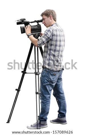 Video camera operator #157089626
