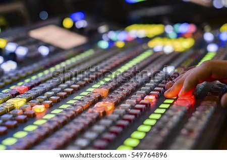 video mixer use