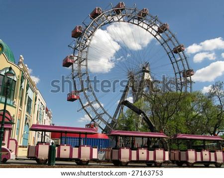 Vienna (Austria) - city park Prater