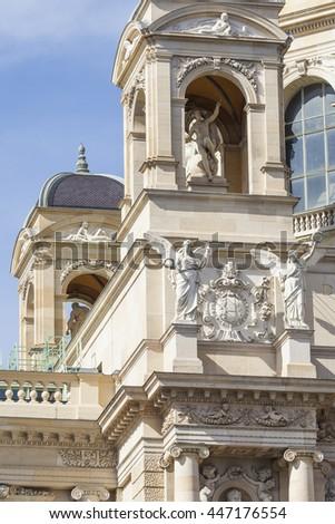 VIENNA, AUSTRIA, E.U. - JUNE05, 2016:famous Naturhistorisches Museum in Vienna, Austria #447176554