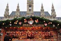VIENNA, Austria, traditional Christmas market