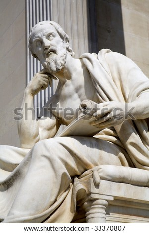 Vienna - Herodotus - stock photo