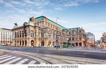 Vienna Opera house, Austria Stock photo ©
