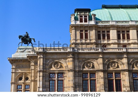 Vienna Opera House (Side View), Austria