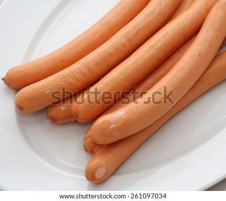 vienna sausage Stock photo ©