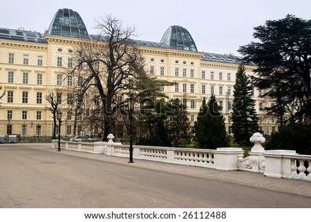 Vienna State Opera at wintertime - stock photo