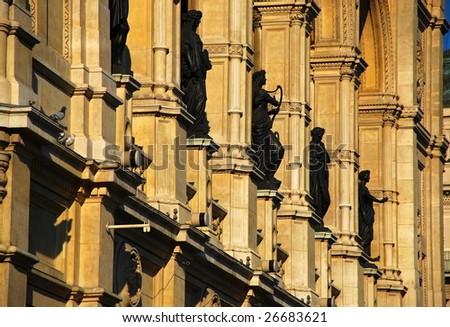 Vienna State Opera House Statues (Wiener Staatsoper) - Vienna Austria