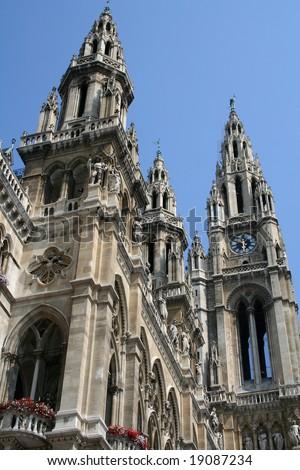 Vienna town hall (Austria)