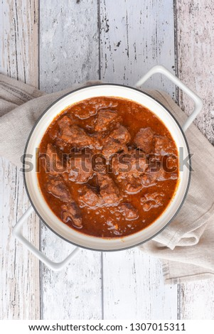 Viennese beef goulash