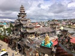Viet Nam Dalat top view