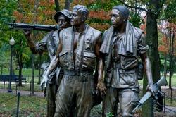 Vietnam Memorial Statue