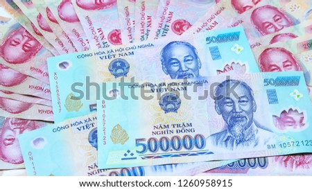 Vietnam money background Images and Stock Photos - Page: 2 - Avopix com