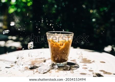 Vietnamese Iced Coffee (Ca Phe Sua Da) Recipe Foto stock ©