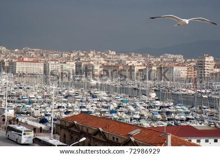 Vieux-Port de Marseille (France), overview.