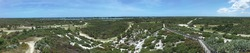 View across Jonathan Dickinson State Park from Hobe Mountain