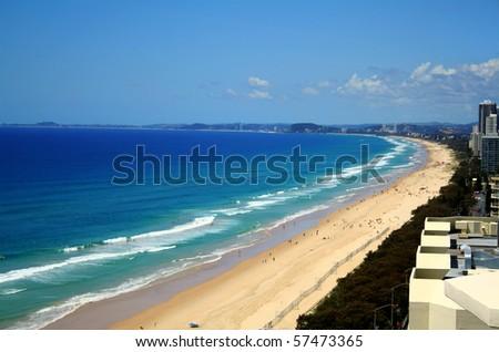 gold coast beaches pictures. australia gold coast beaches.