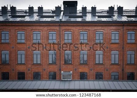 View at a Scheibler's loft in Lodz